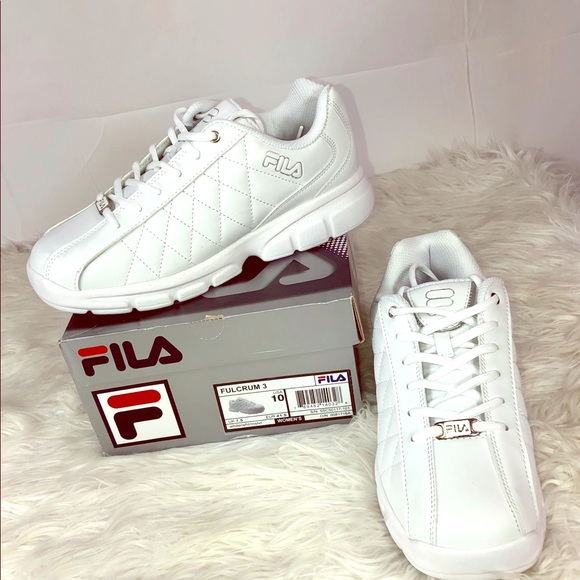 2316699d84 Fila Shoes | Fulcrum 3 White Synthetic Leather Workplay | Poshmark